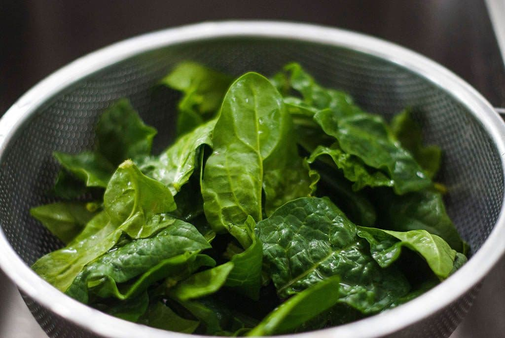 spinach bowl