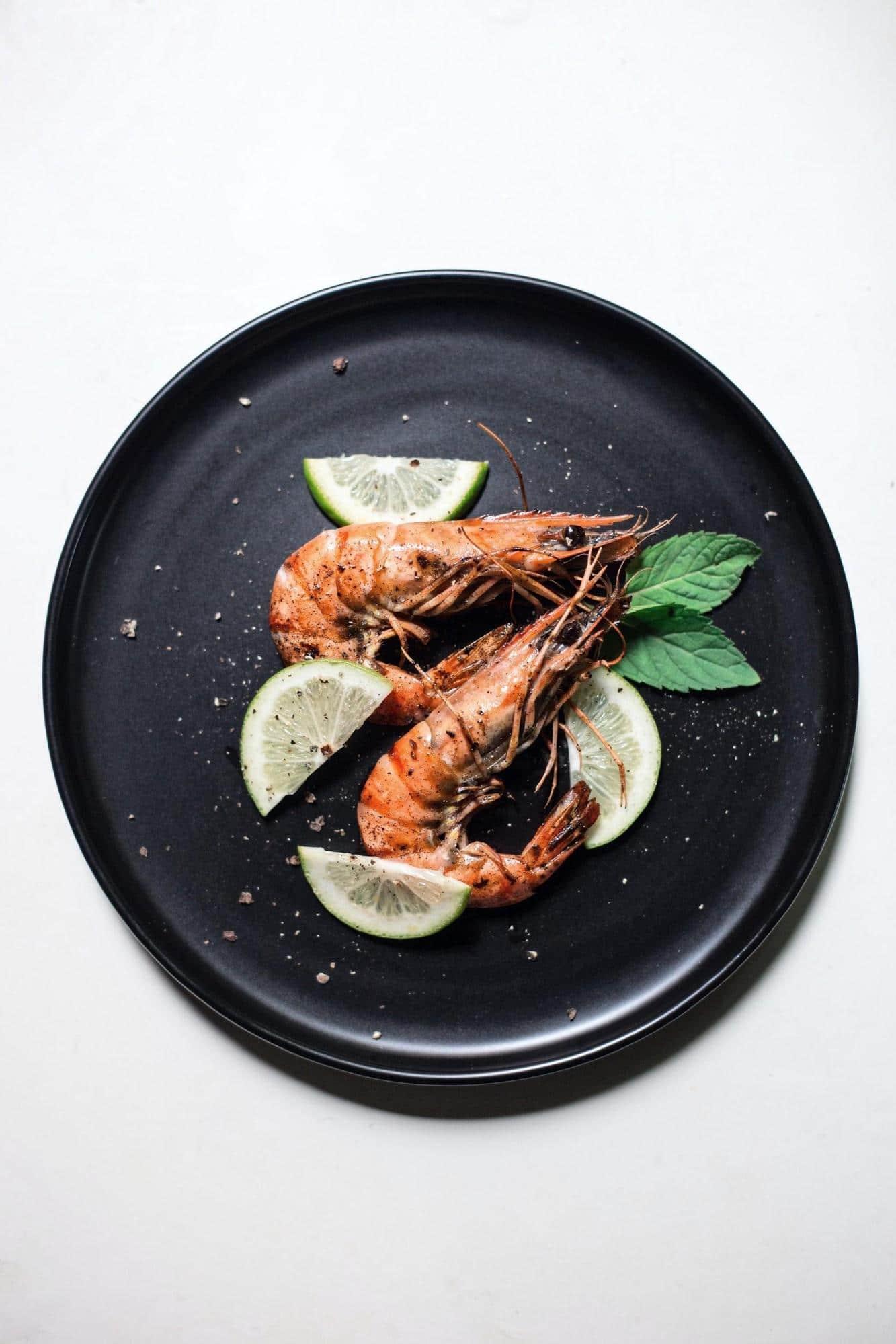 shrimps high in mercury