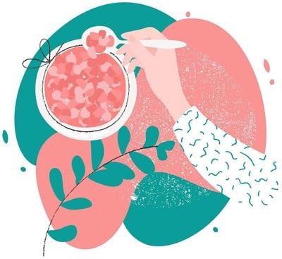 Himalayan Pink Salt illustration